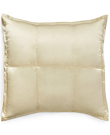 CLOSEOUT! Donna Karan Home Reflection Ivory European Sham