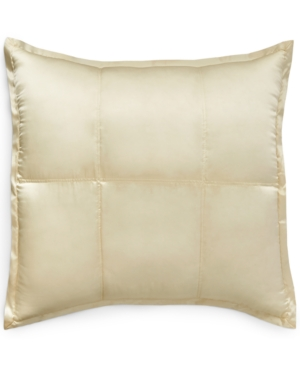 Image of Donna Karan Home Reflection Ivory European Sham Bedding