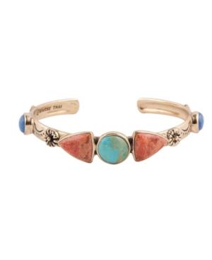 Bronco Multi Stone Cuff Bracelet
