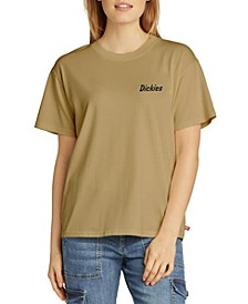 Juniors' Logo T-Shirt