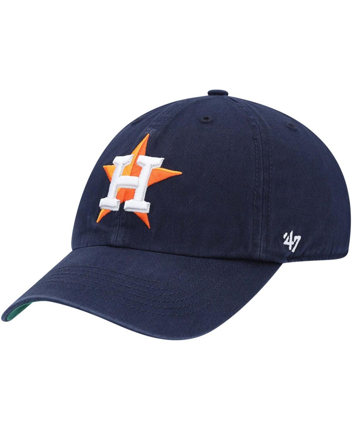47 Brand Mens Houston Astros Team Franchise Fitted Cap