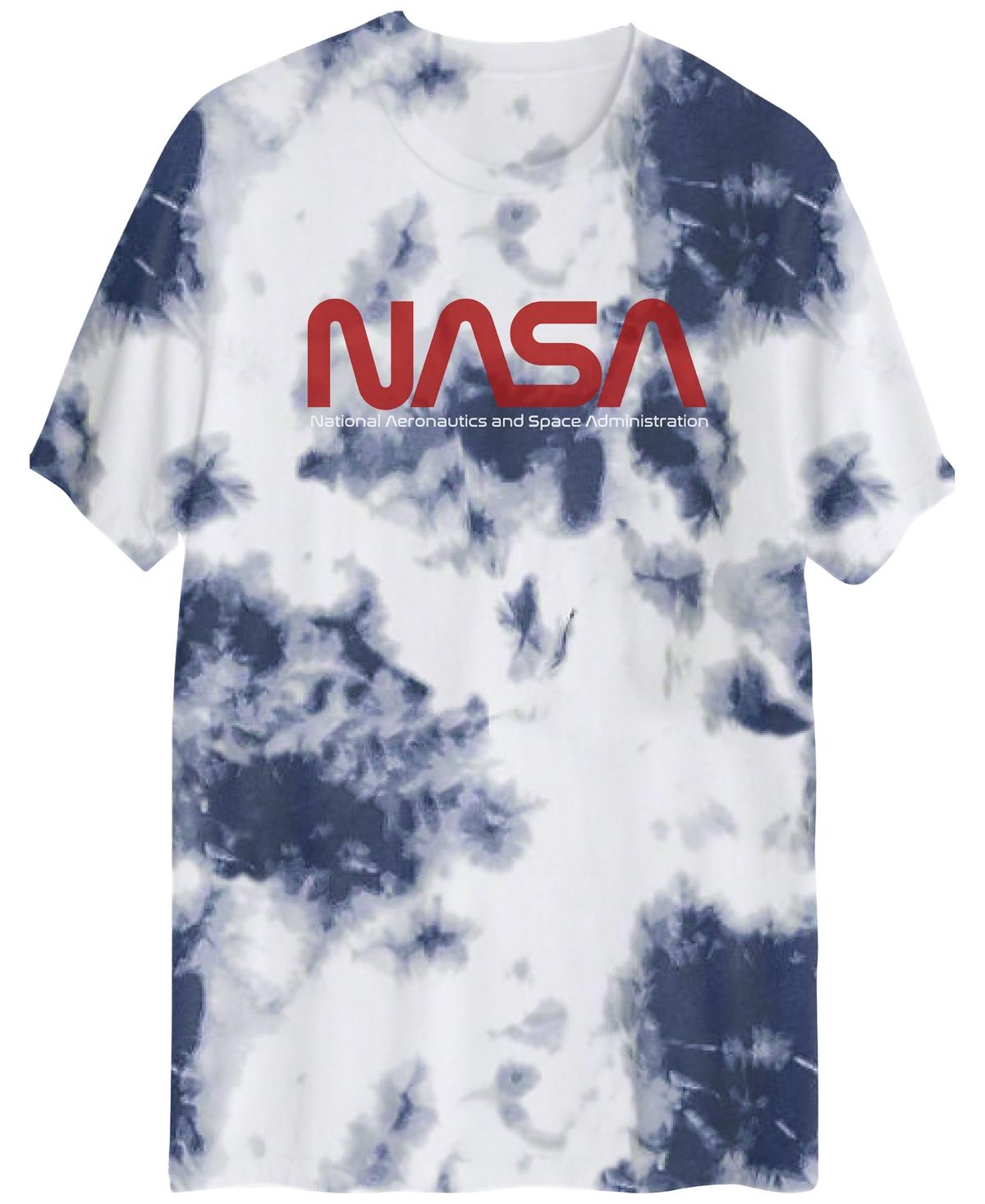 Men's Nasa Logo Tie-Dye T-Shirt
