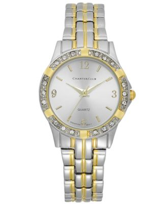 Image of Charter Club Women's Two-Tone Bracelet Watch