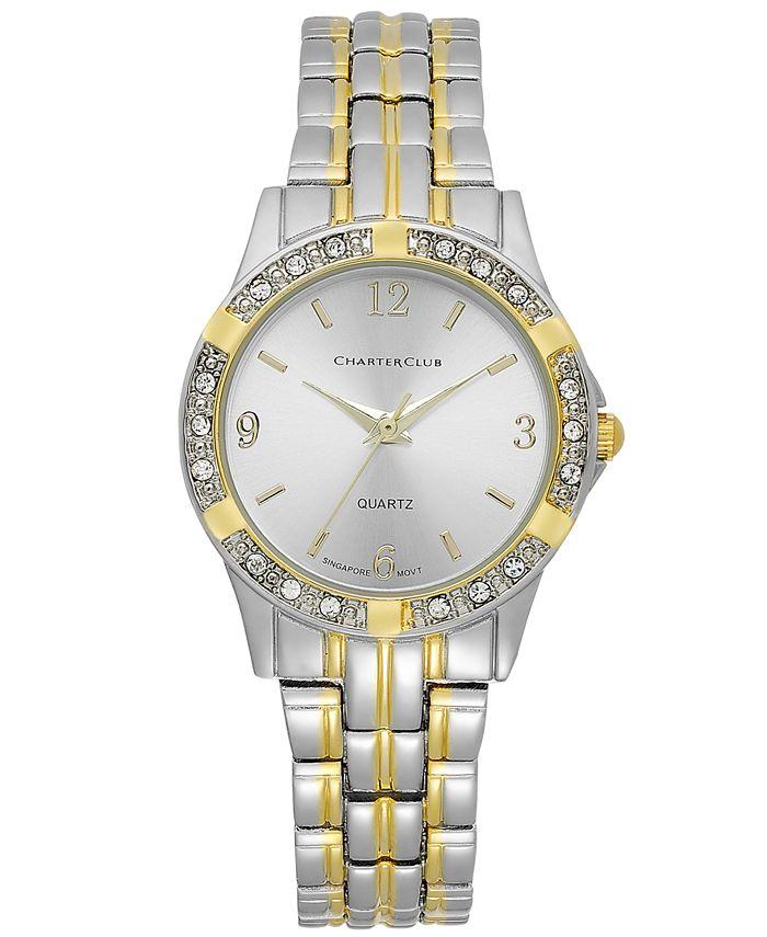 Charter Club - Women's Two-Tone Bracelet Watch