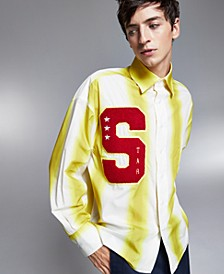 Allen Onyia for INC Men's Varsity Button-Up Shirt, Created for Macy's