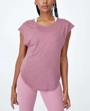 Women's Active Scoop Hem T-shirt