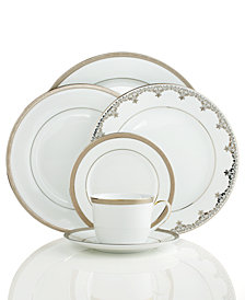 CLOSEOUT! Charter Club Dinnerware, Grand Buffet Platinum Collection