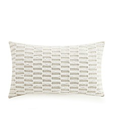 Tufted Emb Decorative Pillow