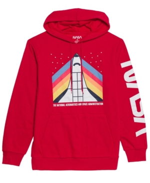 Men's Nasa Shuttle Hooded Fleece Sweatshirt