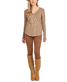 High-Waisted Faux-Suede Leggings