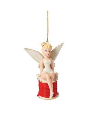 2021 Tinker Bell on Christmas Ribbon Ornament