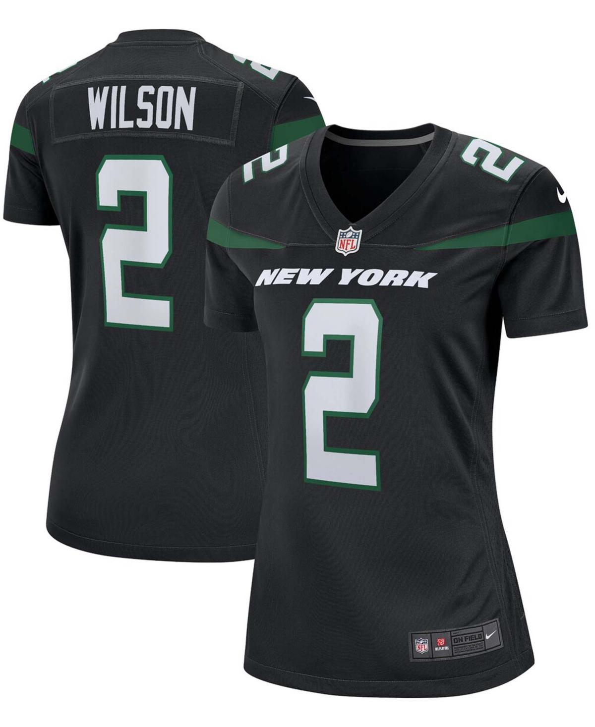 Women's Zach Wilson Black New York Jets Alternate 2021 Nfl Draft First Round Pick Game Jersey