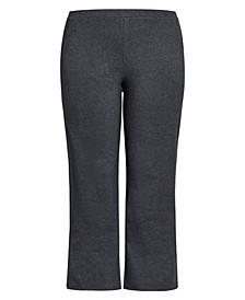 Plus Size Active Pocket Pants