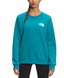 Women's Parks Crewneck Graphic-Back Sweatshirt