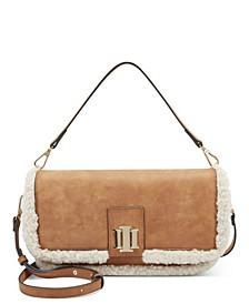 Edenne Faux Fur Shoulder Bag