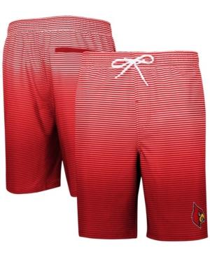 Men's Red Louisville Cardinals Ocean Swim Trunks