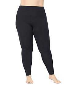 Plus Size Softwear with Stretch High Waisted Leggings