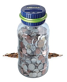 Digital Coin-Counting Money Jar with LCD Screen