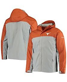 Men's Burnt Orange Texas Longhorns Glennaker Storm Omni-Tech Full-Zip Jacket