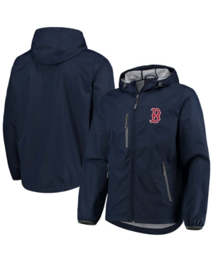 Men's Navy Boston Red Sox Double Play Lightweight Hoodie Jacket