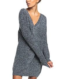 Juniors' Turn The Corner Sweater Dress