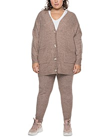 Plus Trendy Sweater Leggings