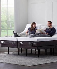 "Sleep System Pro 12"" Hybrid Mattress with Adjustable Base- King Split"