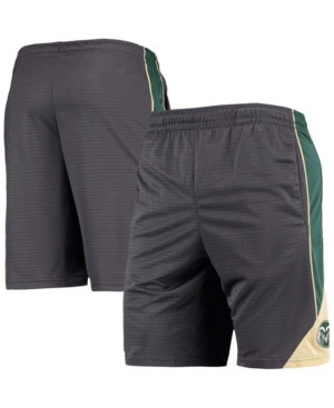 Men's Charcoal Colorado State Rams Team Turnover Shorts