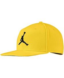 Men's Yellow Pro Jumpman Snapback Hat