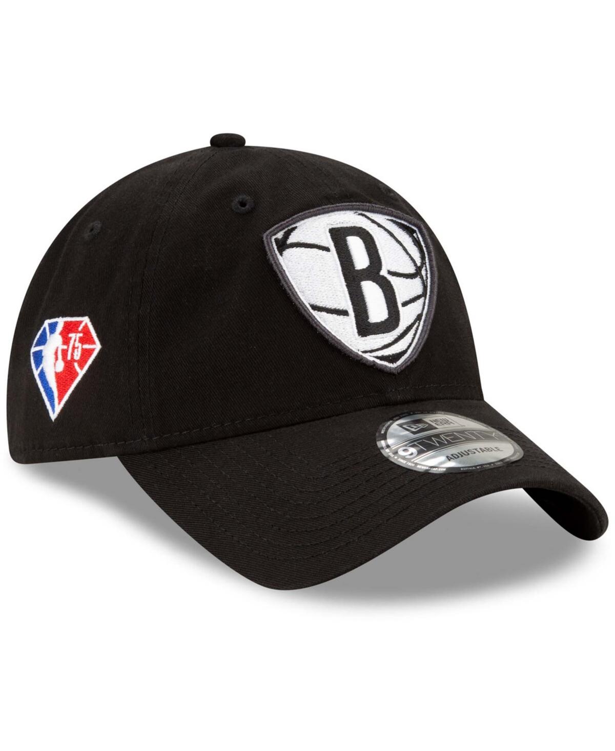 Men's Black Brooklyn Nets 2021 Nba Draft 9Twenty Adjustable Hat