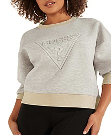 Textured Logo Sweatshirt
