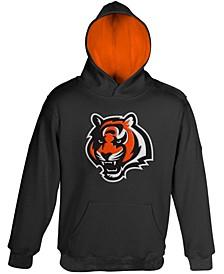 Cincinnati Bengals Preschool Black Fan Gear Primary Logo Pullover Hoodie
