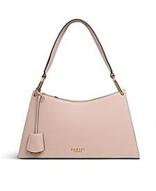 Women's Medium Zip Top Shoulder Handbag