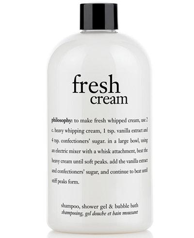 Philosophy Fresh Cream Shower Gel 16 Oz