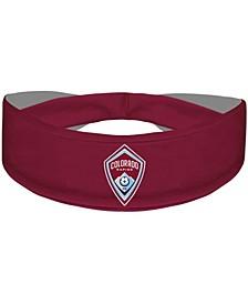 Burgundy Colorado Rapids Primary Logo Cooling Headband