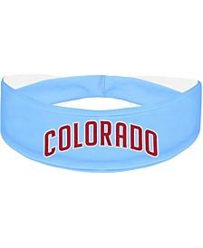Sky Blue Colorado Rapids Alternate Logo Cooling Headband