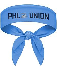 Light Blue Philadelphia Union Tie-Back Headband