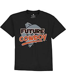 Toddler Black Oklahoma State Cowboys Future Star T-shirt