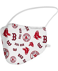 Multi Boston Red Sox All Over Logo Face Covering