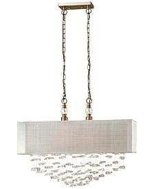 Uttermost Santina 2 Light Shade Pendant