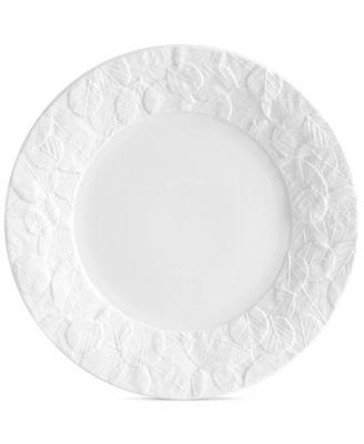 Forest Leaf Salad Plate