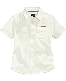 Sean John Flight Woven Shirt, Big Boys