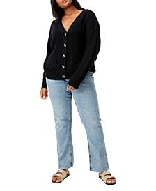 Trendy Plus Size Lush Dad Cardigan