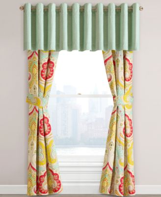 Echo Jaipur 60 x 18 Window Valance Bedding Collections Bed