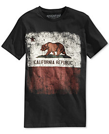 Ring of Fire Men's Cali Fade T-Shirt, Created for Macy's