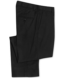 Calvin Klein Fine Roadstripe Suiting Pants, Big Boys