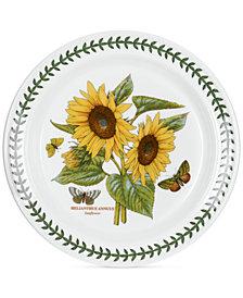 Portmeirion Dinnerware Botanic Garden Sunflower Dinner Plate