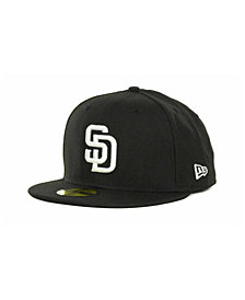 New Era San Diego Padres MLB B-Dub 59FIFTY Cap