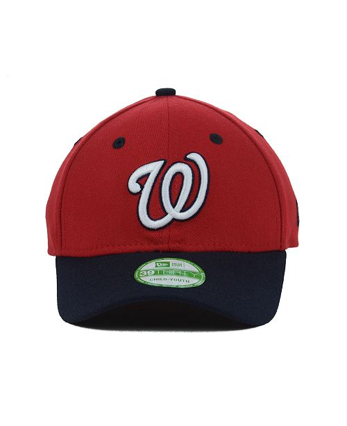 7c4db966e Washington Nationals Team Classic 39THIRTY Kids' Cap or Toddlers' Cap