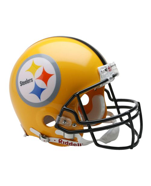 the best attitude 94bd7 6ad9c Riddell Pittsburgh Steelers NFL Mini Helmet & Reviews ...